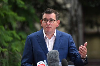Premier Daniel Andrews said announcements on increased international arrivals would come soon.