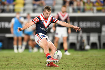 The 19-year-old has been named on the bench for Friday's semi-final against Manly.
