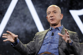 Jeff Bezos looks set to lose his title as the world's richest person.