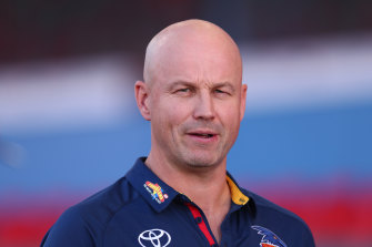 Adelaide coach Matthew Nicks. ''Fortunately or unfortunately, I don't hear a lot of the noise.''