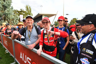 Formula 1 fans queued all morning to be told at the last minute that it was all over.