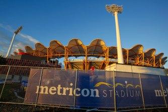 Metricon Stadium.