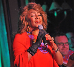 Mary Wilson performs at Feinstein's on October 2, 2009 in New York City.
