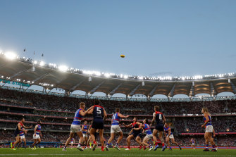 The man is alleged to have falsified documents to enter WA from South Australia for the AFL grand final.