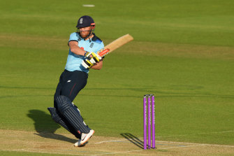 Jonny Bairstow fired with the bat to help England to victory.