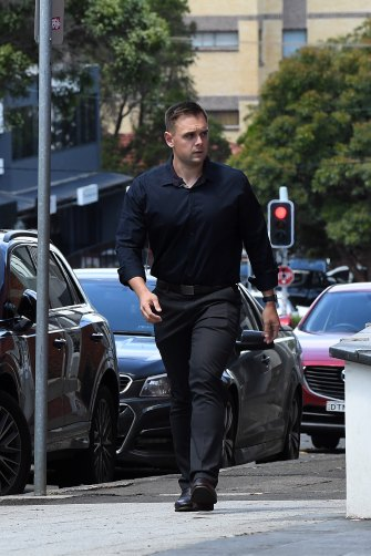 Troy Martin, a flatmate present in the apartment, admitted in court he lied in his first statement to police out of panic.