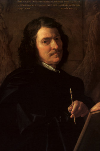 Nicolas Poussin was known for his austere style.