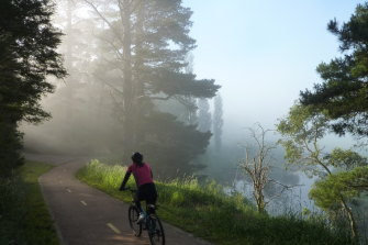 Summer mist makes exploring the Southern Highlands by bicycle an enjoyable experience.