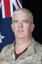 Major Aaron Couchman was a great bloke, a friend and mentor to many, the New Zealand Defence Force has said.