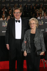 Bill Collins with his wife Joan.