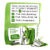 Stuart Robert's sprawling office empire