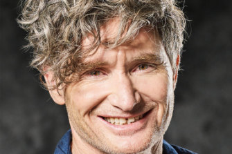Comedian Dave Hughes says he wishes someone would lock up his phone.