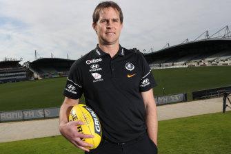 Carlton unveiled David Teague as the full-time senior coach this week.