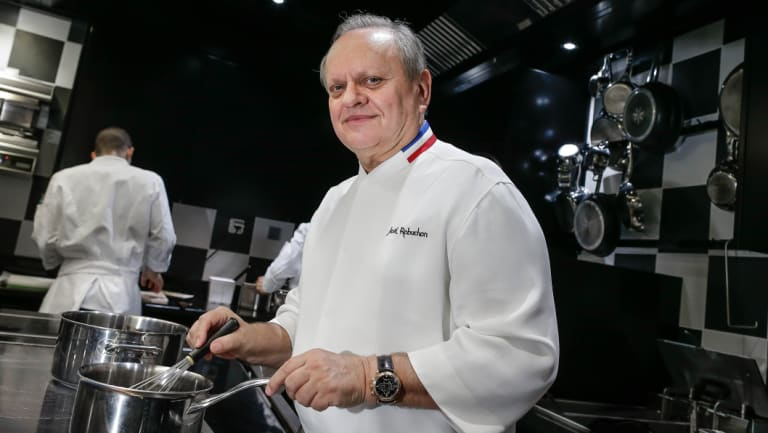 Joel Robuchon racked up 28 Michelin stars during a stellar career.