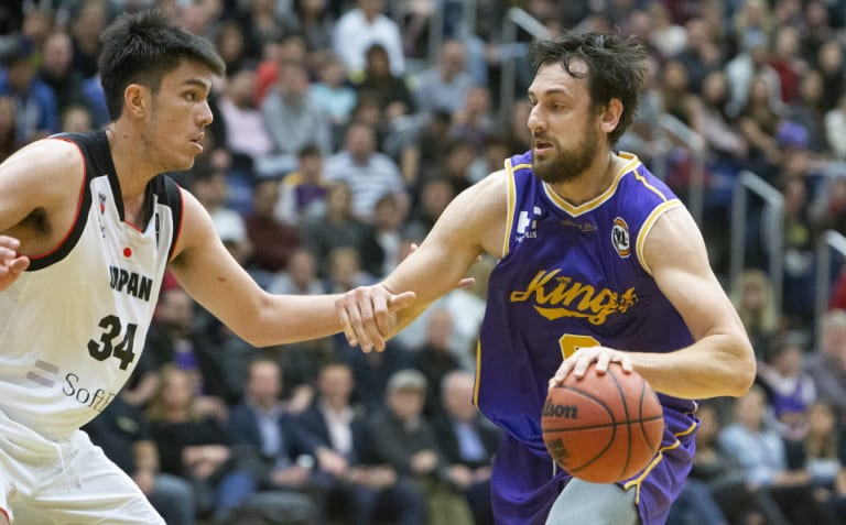 Kingpin: Sydney Kings superstar Andrew Bogut.