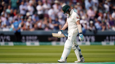 Australia's Steve Smith was booed during the Ashes Test match at Lord's.