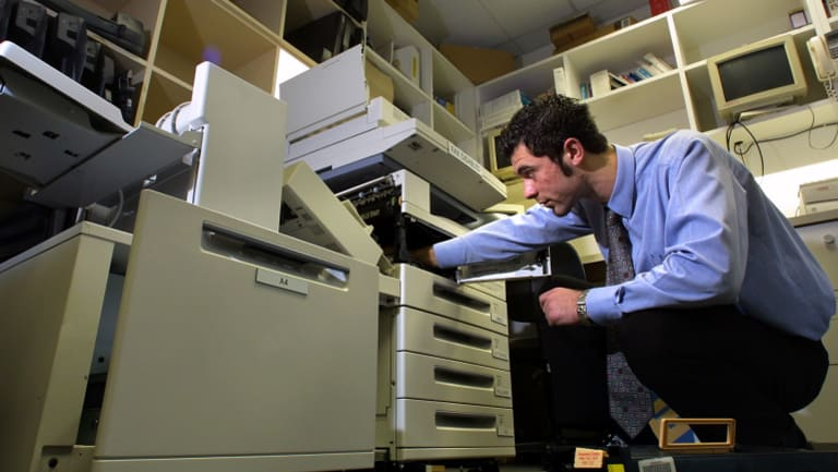Xerox say the fault was down to cheap paper.