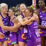 Queensland Firebirds end West Coast Fever's netball win streak