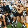 Four tiers and many stories: Footy's back at the 'G