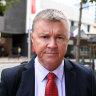 Former CFMEU boss Dave Hanna found guilty of rape