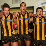 From the Archives, 2007: Hawks soar past Crows in final dramatic seconds