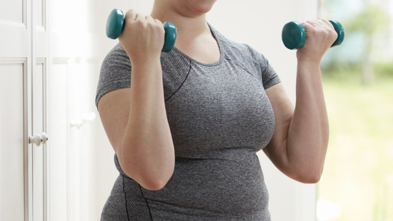 Strength training 'as good as aerobic exercise for weight management'
