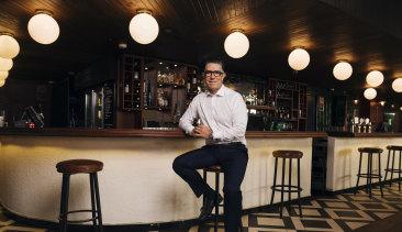 Redcape CEO Dan Brady at Minskys Hotel in Sydney's Cremorne on Thursday.