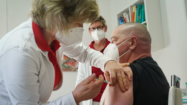 Some German states are allowing COVID-19 vaccinations to begin in a limited number of private medical practices.