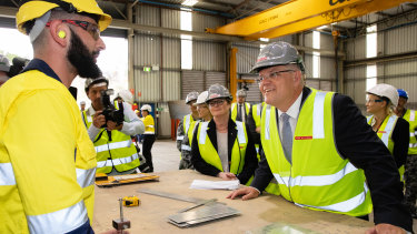 Scott Morrison is yet to unveil what changes to workplace laws he will pursue.