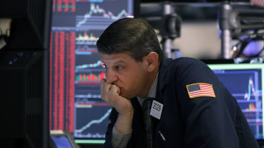 Wall Street has slid lower on Wednesday.