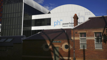 The Powerhouse Museum in Haymarket.