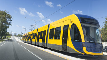 Gold Coast light rail stage 3A will link Broadbeach South to Burleigh Heads.