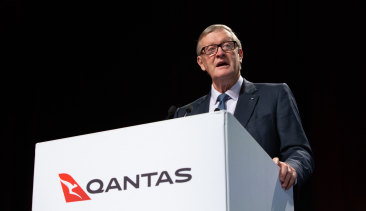 It was Leigh Clifford's last AGM as Qantas chairman.
