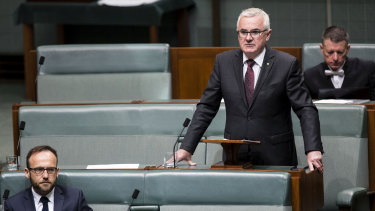 Independent MP Andrew Wilkie has held his Tasmanian seat of Denison since 2010.