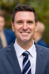 Knox Grammar School's principal, Scott James