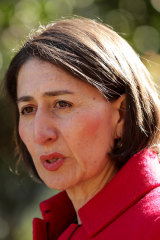 NSW Premier Gladys Berejiklian signed off on council grants in Coalition seats.