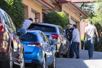 A 57-year-old man was arrested at a Baulkham Hills home and taken to Castle Hill police station on Tuesday.
