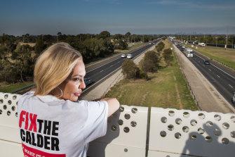 Brimbank mayor Ranka Rasic said the freeway was congested and dangerous.