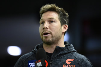 Toby Greene will not play again this season.