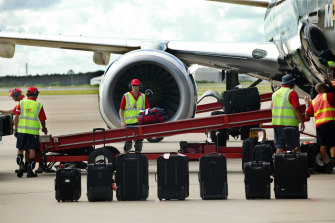 Airport ground handling companies say flights could be grounded over Christmas because they are losing staff.