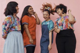 This is The Social Outfit's fourth annual Collaborative Fashion Print Project.