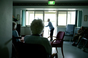 While the opening of schools is up for debate no one is questioning the extended lockdown of nursing homes.