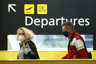 International airline crew face 14 days in quarantine if they test positive for COVID-19.
