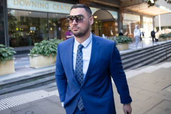 Salim Mehajer outside court in August.
