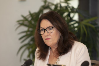 Labor senator Deborah O'Neill grilled AUSTRAC and questioned whether it was a reactive regulator.