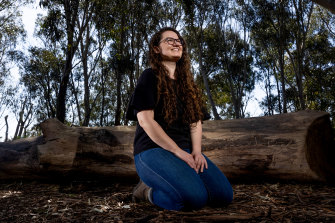PhD candidate Jessica Lawton and La Trobe University researchers have been using heat sensing cameras installed at 50 nesting box sites in the Mount Alexander area to spy onphascogales, one of Victoria's elusive and threatened marsupials.
