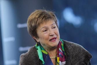 IMF managing director Kristalina Georgieva.