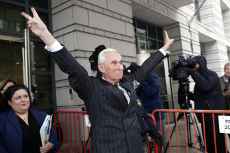 Roger Stone has a tattoo of Richard Nixon on his back.