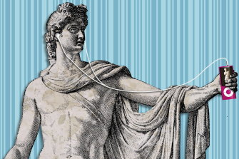 Ancient Greek myths explored gender fluidity and viewed homosexuality positively.