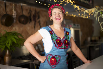 Minimal alterations: Rachel Jelley, owner of Hearth and Soul in Newtown.